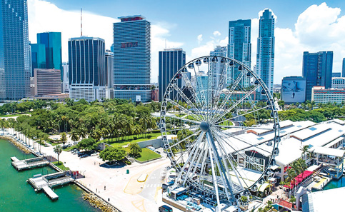 Bayside observation wheel gives thousands bird's-eye views