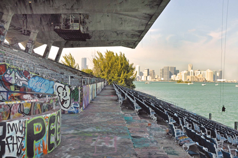 Miami Marine Stadium, if restored, couldn't welcome public