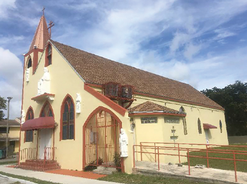 Miami designates Catholic church in Overtown as historic