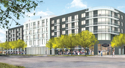 42 apartments may face popular Coral Gate Park
