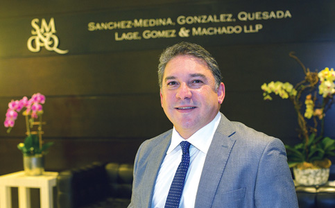 Roland Sanchez-Medina Jr.: Targets pandemic education in leading Hispanic Chamber