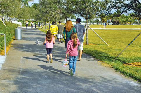 Miami asks redevelopment agency to pay for Ferre Park