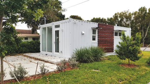 New restriction boxes in experimental container home