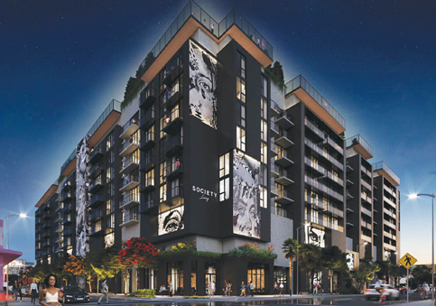 New Wynwood Residences in the Composition of Dice Win OK