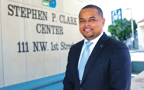 Keon Hardemon: New Miami-Dade commissioner heads League of Cities