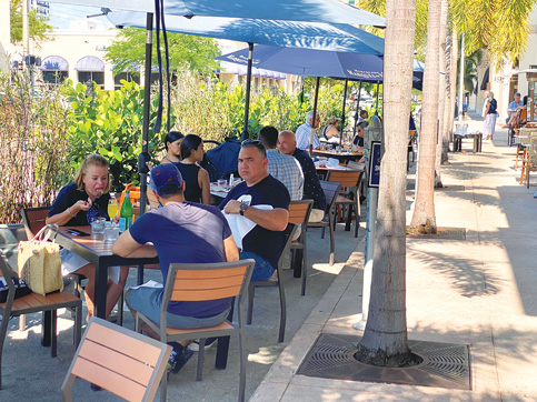 Coral Gables may extend outdoor dining breaks into 2022