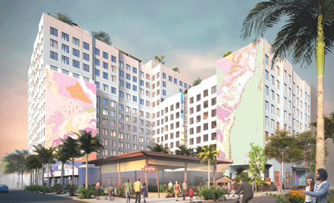 Multi-use Wynwood project with hotel wins design OK
