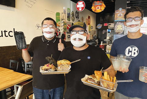 Smile: city hands out clear masks to communicate better