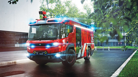 Electric fire truck from Austria may serve us for $1.3 million