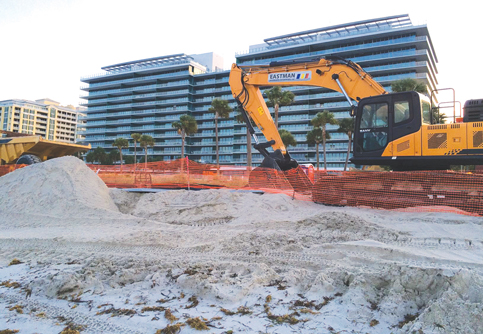 Army hauls 3 billion pounds of sand to Miami-Dade beaches