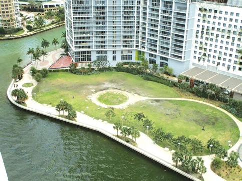 Historic Miami Circle Park closing for an upgrade
