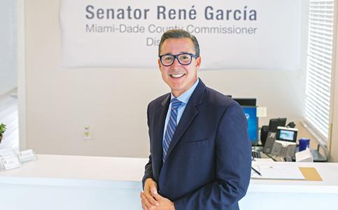 René García: Commissioner cites path to better procedures, procurements