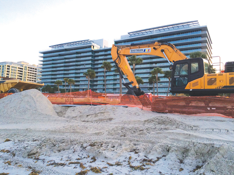 Army orders 830,000 yards of sand to restore Miami Beach