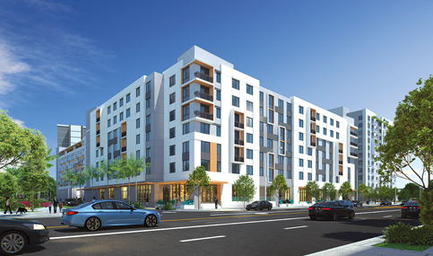 Mixed-income housing across from Marlins Park wins OK