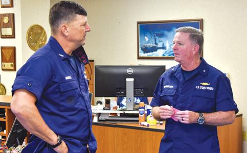 Brendan McPherson: Takes Coast Guard helm for a region bordering 34 nations
