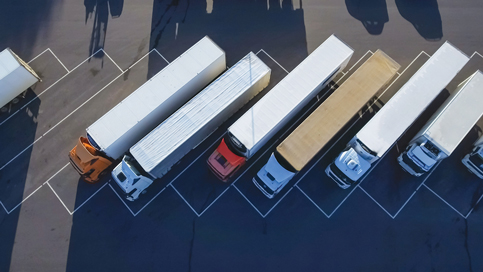 State revs up action to close freight truck parking gap
