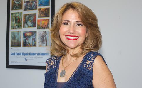 Liliam López: President of South Florida Hispanic Chamber of Commerce