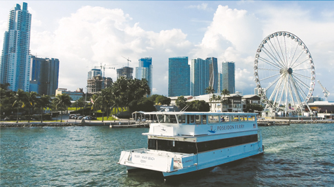 Cross-bay ferry comes back big