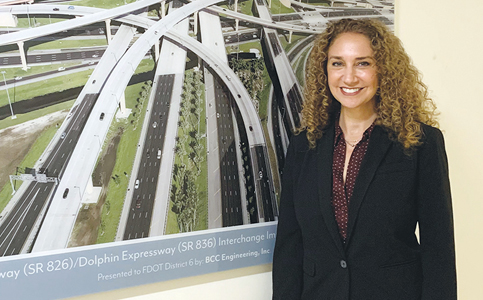 Stacy Miller: Leads major Florida Department of Transportation projects