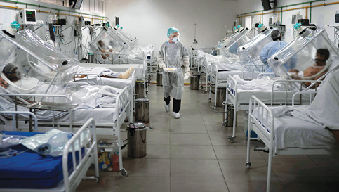 In pandemic, hospitals struggle to lure scarce nurses