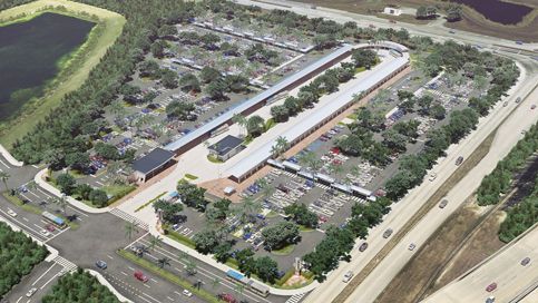 Upland Park plans for nearly 2,000 units at county transit hub