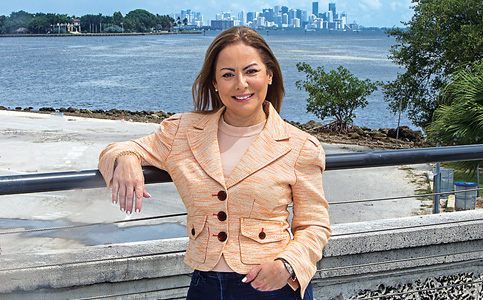 Irela Bague: First chief bay officer targets water quality, infrastructure