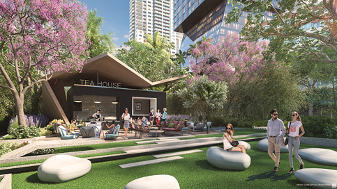 Teahouse to be planted in center of Biscayne Boulevard downtown