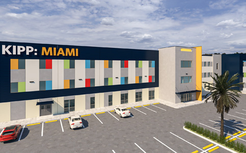 Miami Dade College will house the KIPP Charter School building